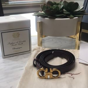 New Salvatore Ferragamo Women's belt, Sz 90